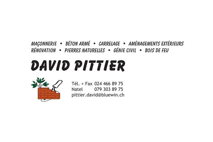 David Pittier Sàrl
