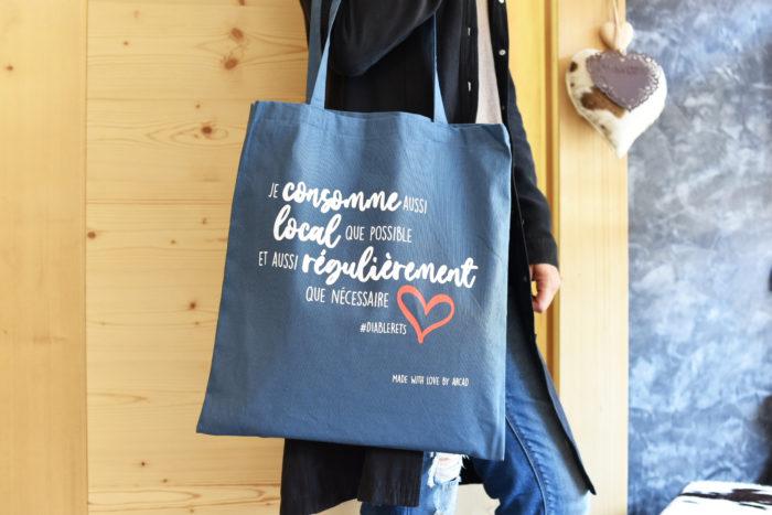 Nos sacs en tissu réutilisables